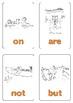 Kindergarten Sight Words Flashcards