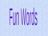 Kindergarten Sight Words Game-Powerpoint