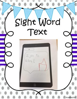 Kindergarten Sight Words IPAD