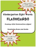 Kindergarten Sight Words - Journeys FLASHCARDS