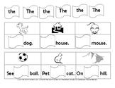 Kindergarten Sight Words List 1