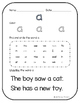 Kindergarten Sight Words Packet