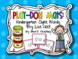 Kindergarten Sight Words Play-Doh Mats {Fry List 1-100}