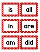Kindergarten Sight Words - Red Polka Dots