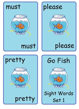Kindergarten Sight Words: Set 1  (worksheets, reading)
