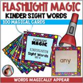 Kindergarten High Frequency Words Practice   Flashlight Magic
