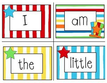 Kindergarten Sight Words - Whimsical Cat Theme