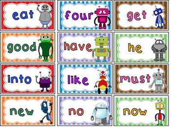 Sight Words ~ Kindergarten