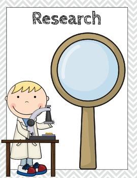 Kindergarten Simple Scientific Method Anchor Charts/Posters