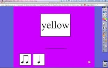 Kindergarten Site Word Rhythms