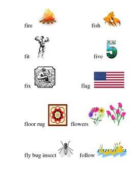 #14 Kindergarten Sight Words Matching Pictures