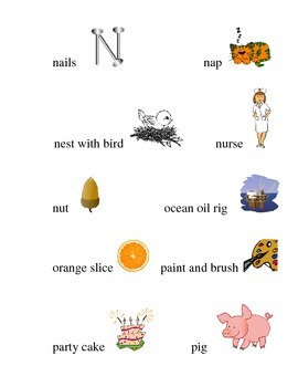 #22 Kindergarten Sight Words and Matching Pictures
