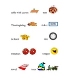 #24 Kindergarten Sight Words and Matching Pictures