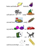 #4 Kindergarten Sight Words and Matching Pictures