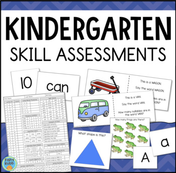 Kindergarten Assessment - Skill Inventory for Math & Reading