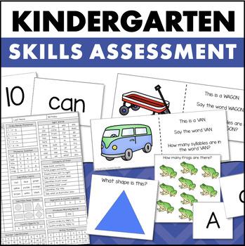Kindergarten Assessment - Skill Inventory for Math & Reading