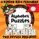 Kindergarten Skills BUNDLE - Matching, Alphabet, Puzzles