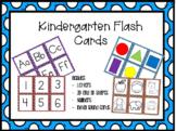 Kindergarten Skills Flash Cards EDITABLE