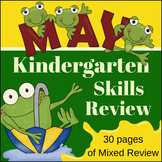 Kindergarten Skills Review for May