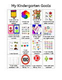 Kindergarten Skills Sheet English and Spanish