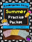 Kindergarten Skills Summer Practice Packet