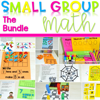 Kindergarten Small Group Guided Math