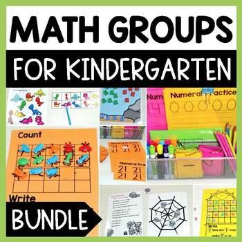 Kindergarten Small Group Guided Math