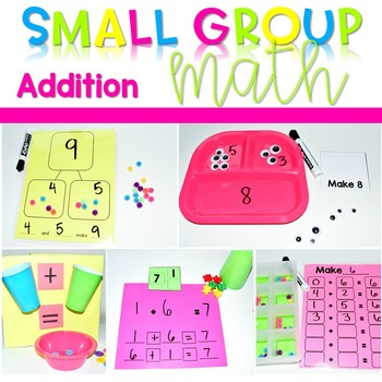 Kindergarten Small Group Guided Math Addition