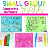 Kindergarten Small Group Guided Math Comparing Sets and Numbers