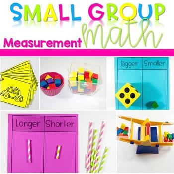 Kindergarten Small Group Guided Math Measurement