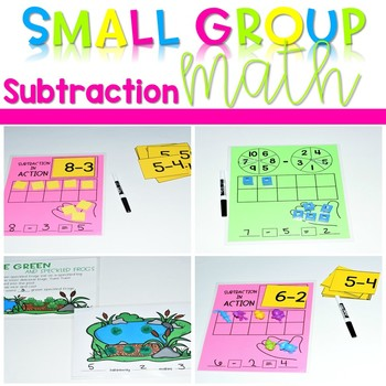 Kindergarten Small Group Guided Math Subtraction