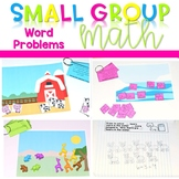 Kindergarten Small Group Guided Math Word Problems