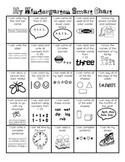 Kindergarten Smart Chart