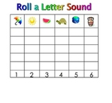 Kindergarten SmartBoard Dice Games: Learn Literacy Skills