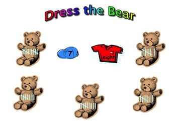 Kindergarten SmartBoard Fun With Bears
