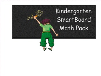 Kindergarten SmartBoard Math Pack