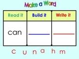 Kindergarten SmartBoard Sight Word Practice: Read it  Writ
