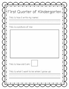 Kindergarten Snapshot Pack