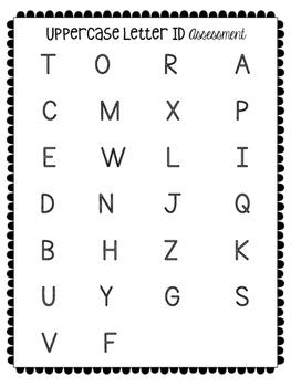 Kindergarten Assessment Pack {Back to School}
