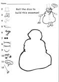 Kindergarten Snowman Math Game