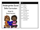 Kindergarten Social Skills