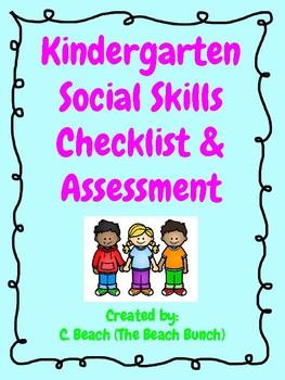 Kindergarten Social Skills Assessment