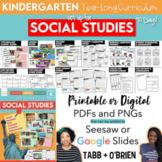 Kindergarten Social Studies (A 90 Day Curriculum)