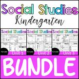 Kindergarten - Social Studies - BUNDLE