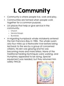 Kindergarten Social Studies Curriculum