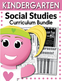 Kindergarten Social Studies Curriculum Bundle (Worksheets, Activities, + EXTRAS)