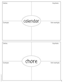 Kindergarten Social Studies Dictionary