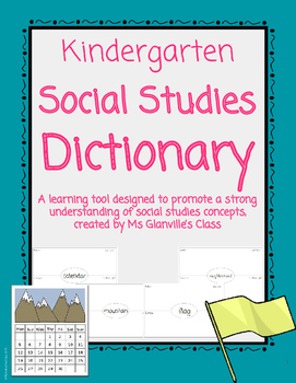 Kindergarten Social Studies Dictionary
