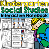Kindergarten Social Studies - Interactive Journal - Distan