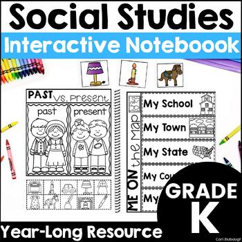 Kindergarten Social Studies - Interactive Journal